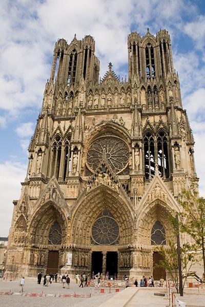 フランス ランス ノートル・ダム大聖堂