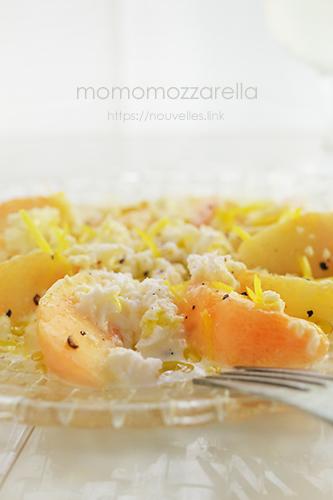 桃モッツアレラ