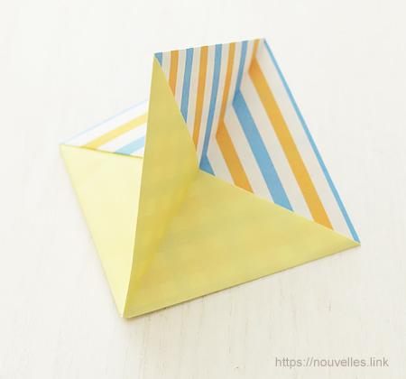 ダイソーの折り紙ブック⑥ おもちゃおりがみ ふきごま