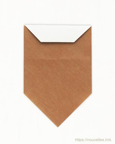 ダイソーの折り紙ブック① はじめてのおりがみ どんぐり