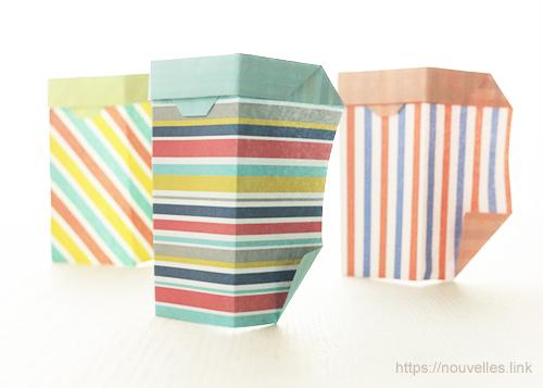 ダイソーの折り紙ブック⑥ おもちゃおりがみ ころころ