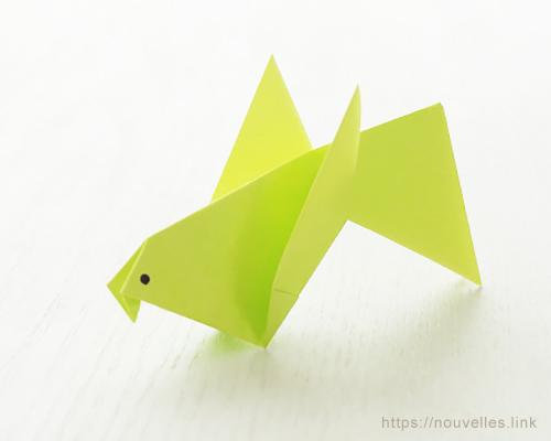 ダイソーの折り紙ブック③ いきものおりがみ 小鳥