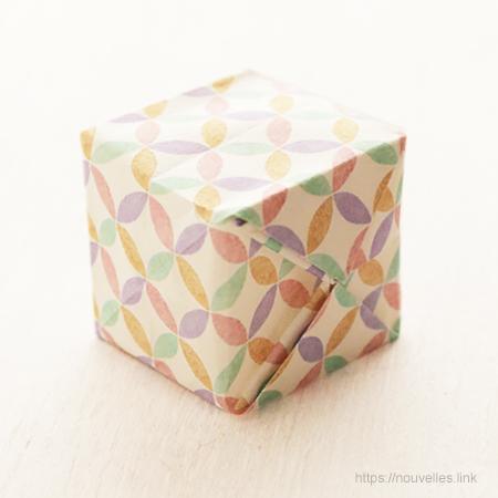 ダイソーの折り紙ブック⑥ おもちゃおりがみ 風船