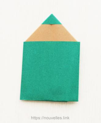 ダイソーの折り紙ブック⑥ おもちゃおりがみ 鉛筆