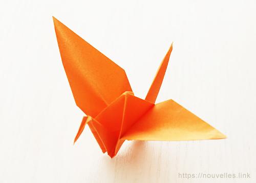 ダイソーの折り紙ブック③ いきものおりがみ 鶴