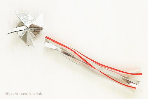 ダイソーの折り紙ブック5 きせつのおりがみ 矢車と吹き流し