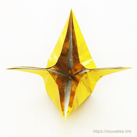 ダイソーの折り紙ブック5 きせつのおりがみ 星の七夕かざり