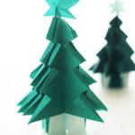 ダイソーの折り紙ブック5 きせつのおりがみ クリスマスツリー