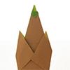 ダイソーの折り紙ブック④ たべものおりがみ 筍