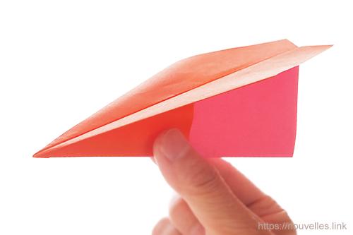 ダイソーの折り紙の本 おりがみブック⑦ おりがみひこうき 簡単飛行機