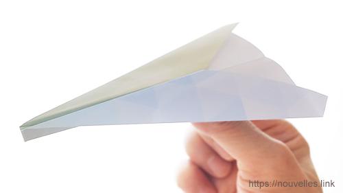 ダイソーの折り紙ブック⑦ おりがみひこうき レインボー