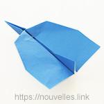 ダイソーの折り紙の本 おりがみブック⑦ おりがみひこうき ジェット機
