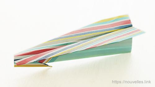 ダイソーの折り紙の本 おりがみブック⑦ おりがみひこうき 槍飛行機
