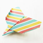 ダイソーの折り紙の本 おりがみブック⑦ おりがみひこうき イーグル