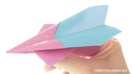 ダイソーの折り紙の本 おりがみブック⑦ おりがみひこうき カナード