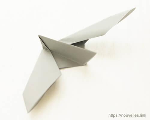 ダイソーの折り紙の本 おりがみブック⑦ おりがみひこうき 伝書バト