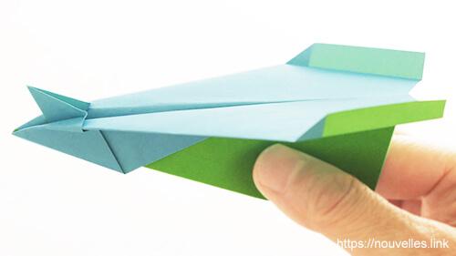 ダイソーの折り紙の本 おりがみブック⑦ おりがみひこうき ハミングバード
