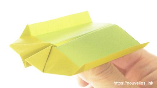 ダイソーの折り紙の本 おりがみブック⑦ おりがみひこうき のしイカ飛行機